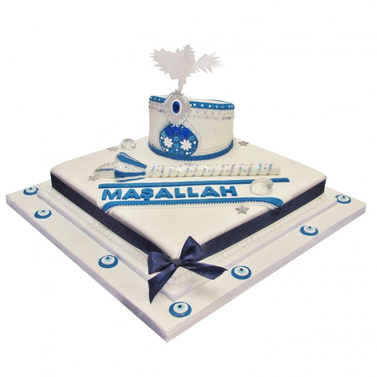 Turkish Maşallah Cake for a special Sunet Party