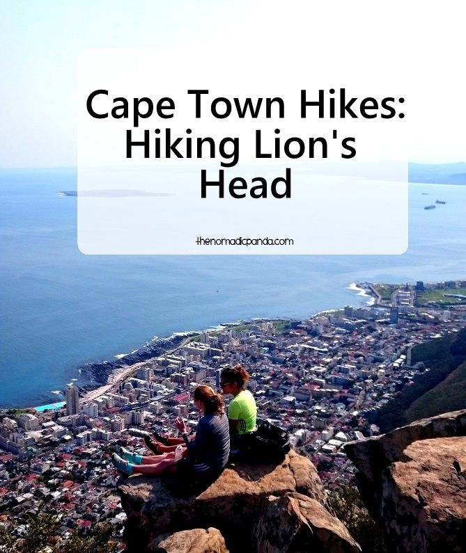 Hike up Lion's Head in Cape Town for spectacular views of the city and ocean