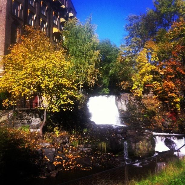 Waterfall at Mølla