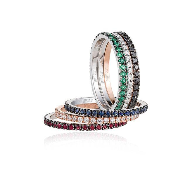 Eternity Collection | Gioielli Bibigì - Gioielli preziosi, diamanti, pietre preziose