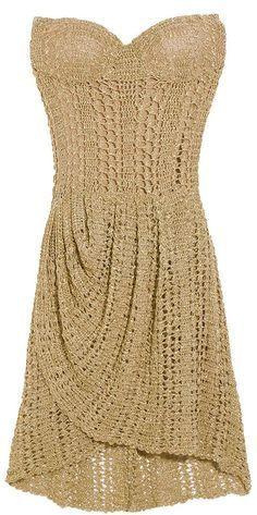 Вязанные платья,сарафаны,юбки в Pinterest | Связаные Крючком Платья, Вязание Крючком Свадебные Платья и Связанные Крючком Юбки | вязание крючком | Постила