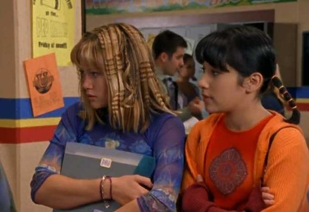 """Your hair should constantly resemble a piece of fine art.   25 Important Fashion Lessons From """"Lizzie McGuire"""""""