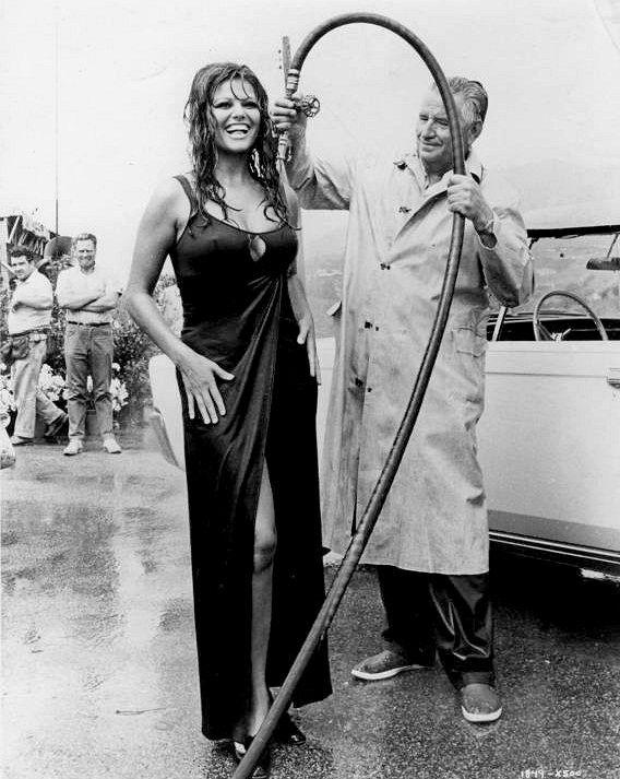 Claudia Cardinale for Una rosa per Tutti directed by Franco Rossi, 1967