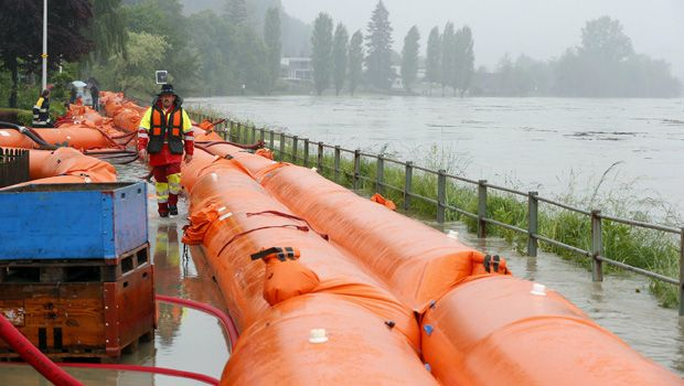 Times of Oman | News :: Four dead, many missing in central Europe floods