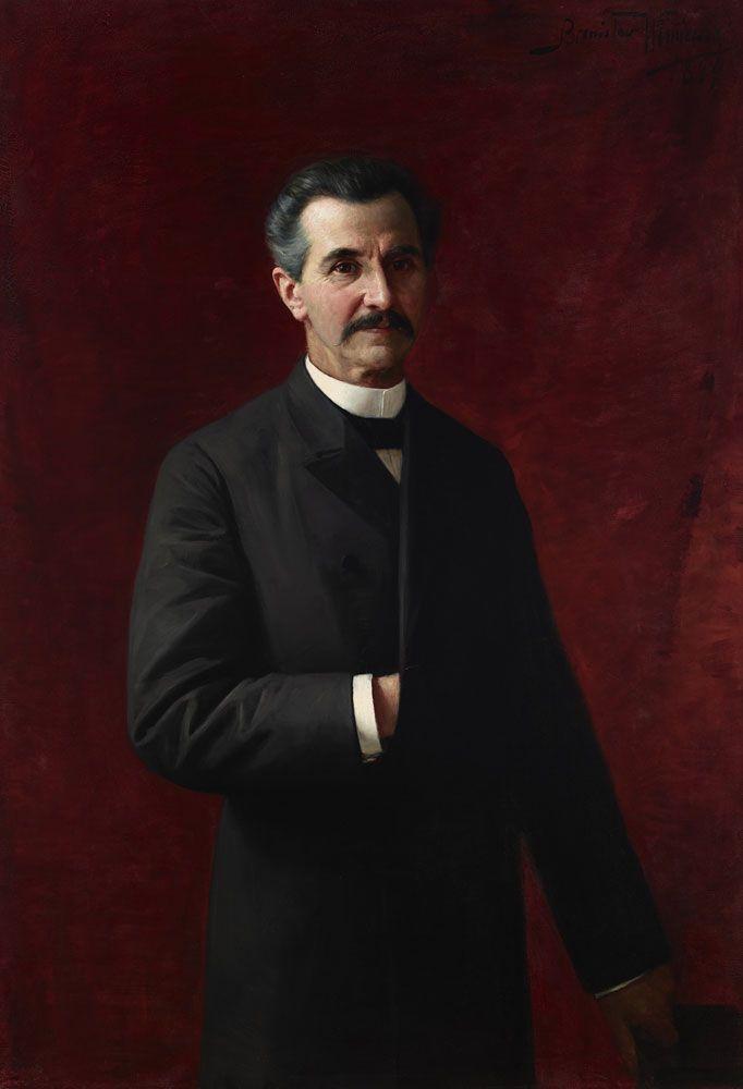 Bronisław Wiśniewski, Portret dr Feliksa Sommera