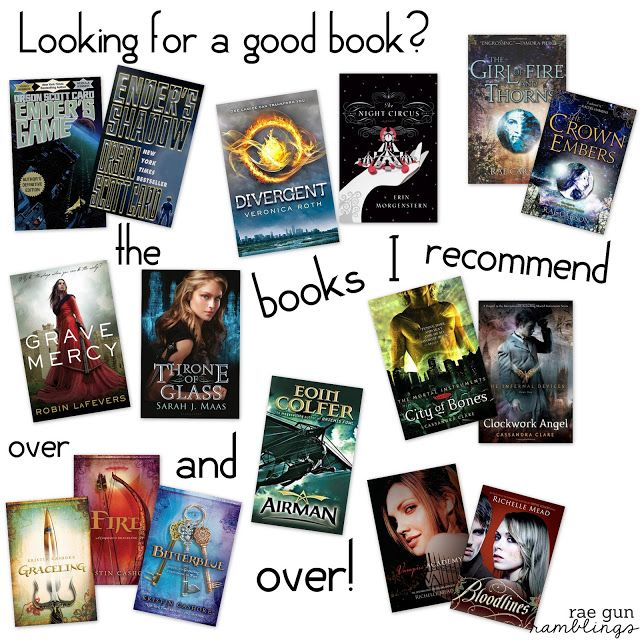 Looking for Something to Read? My Most Recommended Book List - Rae Gun Ramblings
