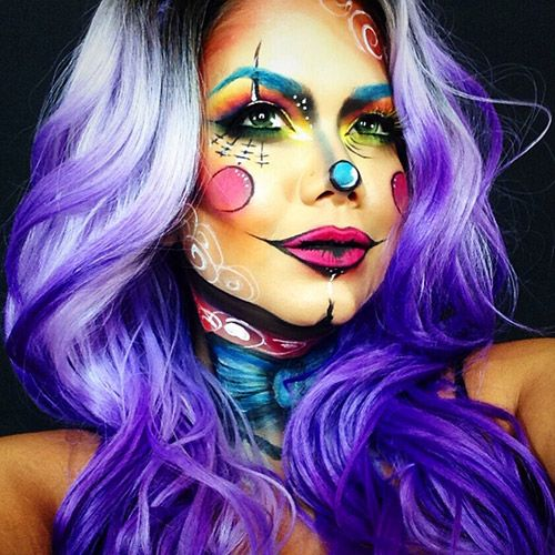 17+ best images about Halloween Makeup on Pinterest | Scary makeup ...
