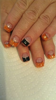 halloween nails acrylic