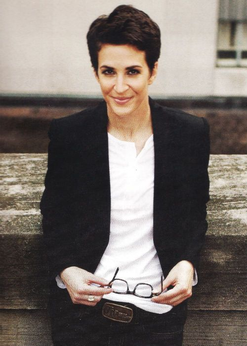 Ah Rachel Maddow.  You beautiful creature, you.  Smart has never been so sexy.