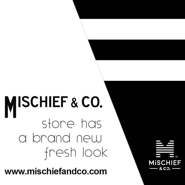 As part of our 2 years celebration  Mischief & Co. store has now a completely new fresh and modern look  > @mischiefandco < Tap link in bio or google: Mischief & co.  Be curious and look out for our online party   enter and enjoy the biggest discount ever!!  #mischiefandco #kidsfashion #kidsfashionforall #ontrendfashion