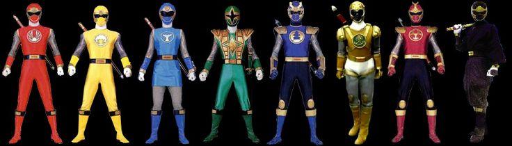 Ninpu Sentai Hurricaneger - Power Ranger Ninja Storm ... Ninja