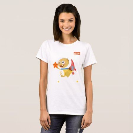 VIPKID Cosmic Dino T-Shirt - tap to personalize and get yours