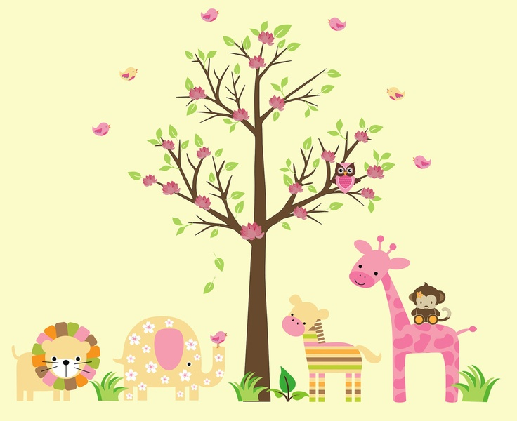 48 best Animal Wall Stickers images on Pinterest | Animal room, Pet ...