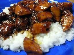 bourbon chicken recipe, my family loves this!
