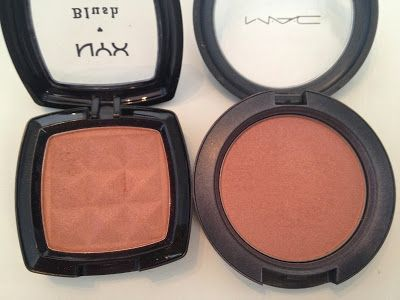 NYX Terra Cota is possibly MAC Sunbasque and MAC Margin dupe