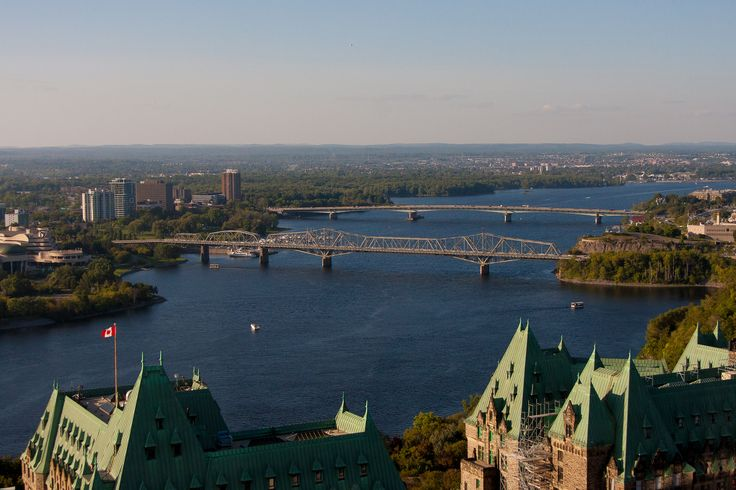 View from Ottawa,  the City of Gatineau Quebec