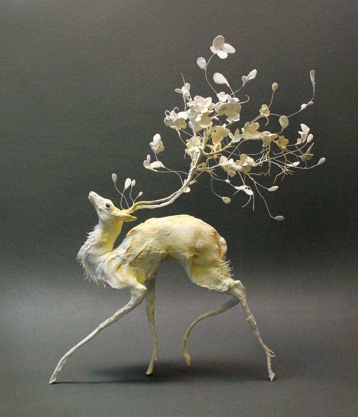 Ellen Jewett ist eine talentierte Bildhauerin aus …