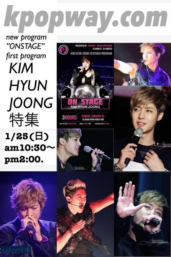 "nice [News] Kim Hyun Joong Featured on Program – ""Online Kpop Radio"" Check more at http://kstarwiki.com/2015/01/16/news-kim-hyun-joong-featured-on-program-online-kpop-radio/"