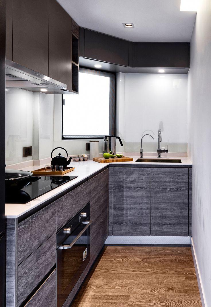 hong kong small kitchen design  Google Search  1Kitchen