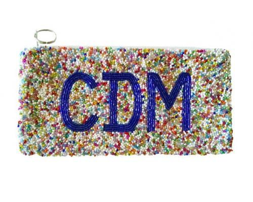 31 best monogrammed hand beaded bags and clutches images on pinterest