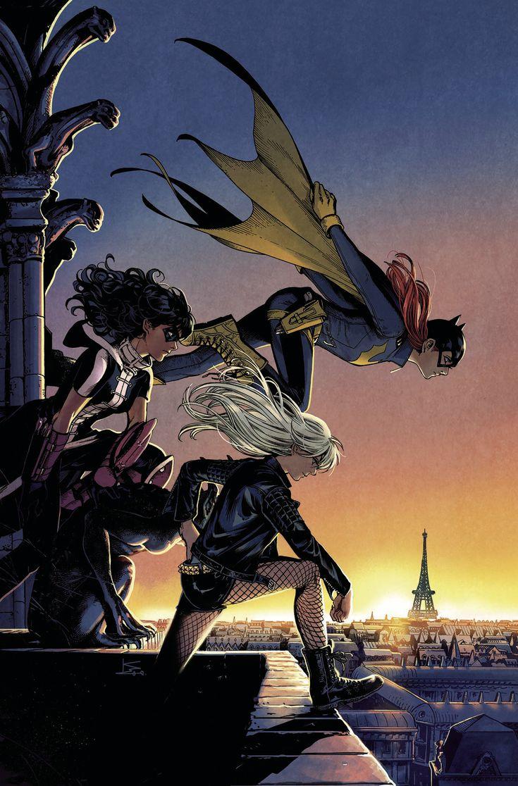 Birds of Prey || Black Canary, Huntress and Batgirl