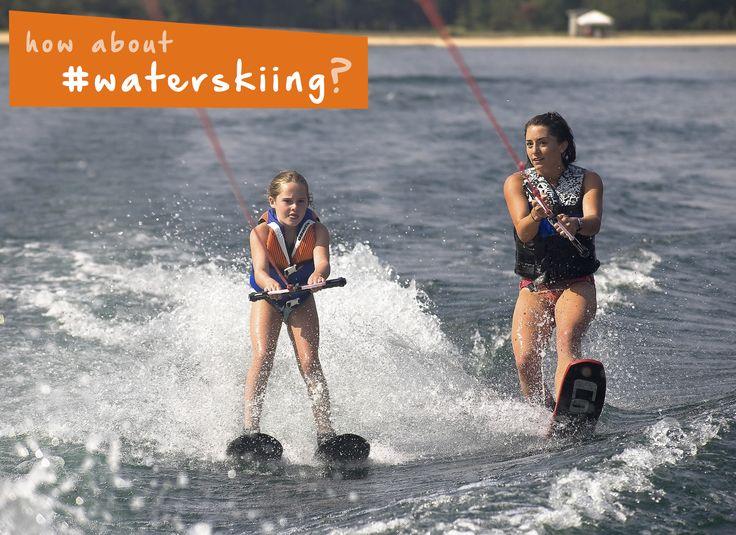 Try #waterskiing this summer for a fun #watersport! #summer #beach #ocean…