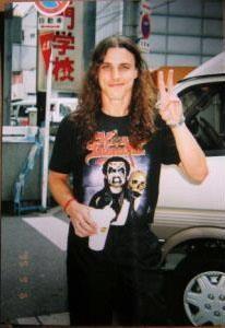 Chuck Schuldiner in a King shirt!