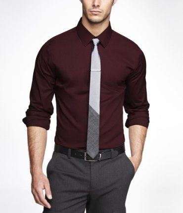 Best 25  Maroon dress shirt ideas on Pinterest | Maroon long ...