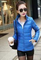 Chaqueta de plumón de pato, mujeres a estrenar NK deportes de invierno mantener caliente abajo mujeres ocasionales adelgazan invierno Outwear WT4405