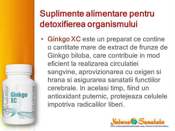 #Ginkgo biloba - #antioxidant, #circulatia #sanguina, #oxigen. #calivita