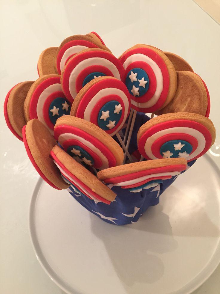 Biscotti Lecca Lecca  'Capitan America'