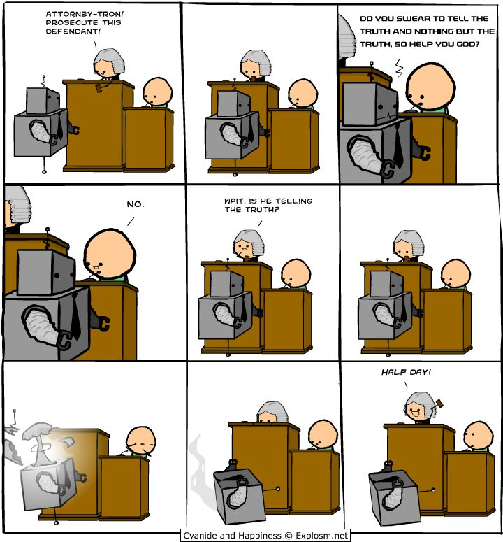 Robot - Cyanide and Happiness