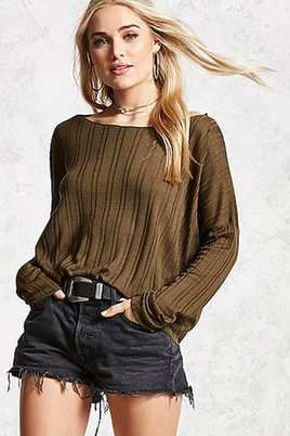 Shadow Stripe Sweater