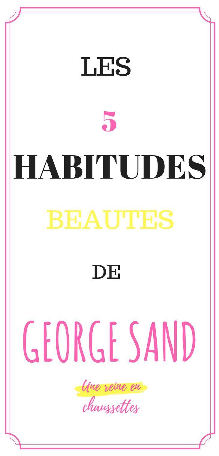Inspirez vous de Georges Sand pour mettre en valeur votre beauté naturelle.