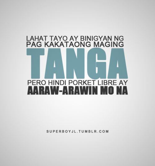 famous quotes about life tagalog quotesgram