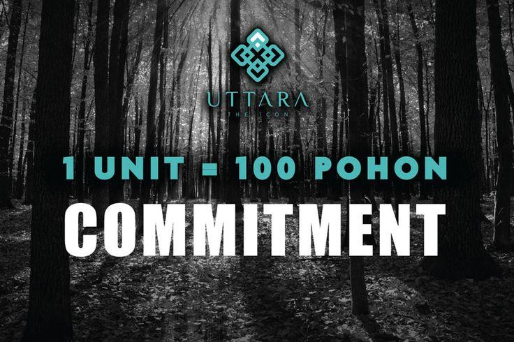 Komitmen Pengembang Apartemen Uttara The Icon Untuk Melakukan Penghijuan di Jogja.