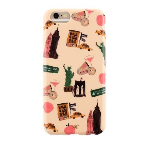 New York City iPhone case by NUNUCO® #iphonecase #nunucodesign