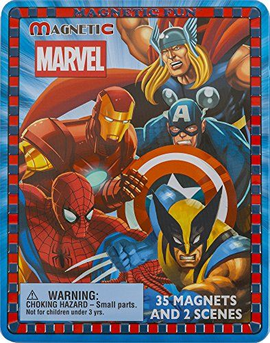 1 X MAGNETIC FUN - MARVEL HEROES COLLECTOR'S EDITION