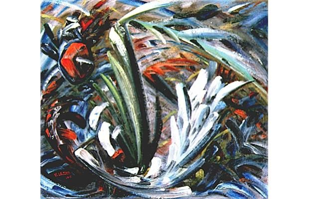 Quebec painter Fernand Leduc 'was a master of the abstract'