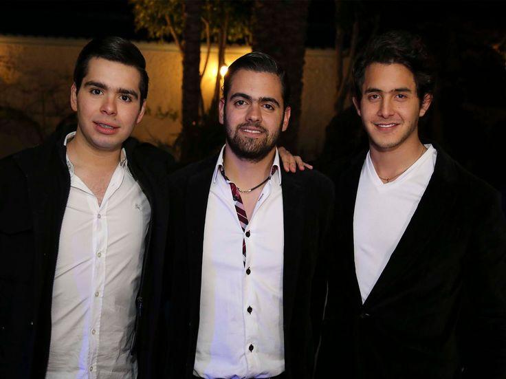 Juan Pablo, Julian y Ro festejan a lo grande