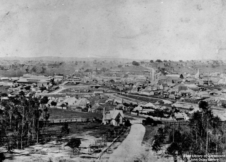 View of Ipswich c1870