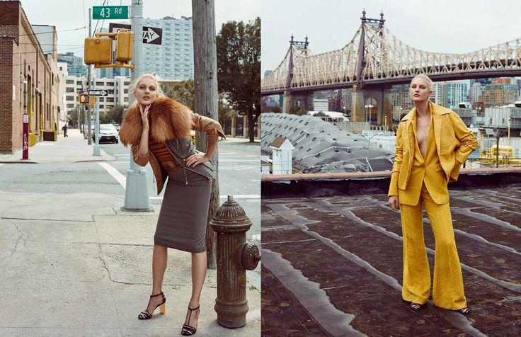 "Elle Spain Editorial ""I Love New York"" 02 shot by the fashion photographer Xavi Gordo represented by 8AM -  8 Artist Management  | #artistmangement #fashion #editorial #Elle #8artistmanagement #xavigordo ★★ 8AM / 8 Artist Management ★★  more photos in http://8artistmanagement.com/"