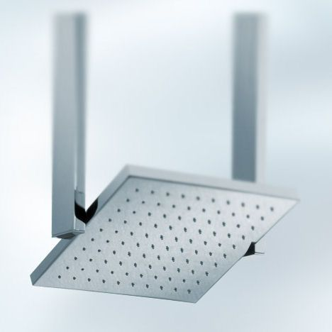 pivoting showerhead from newform a square showerhead design - Showerheads