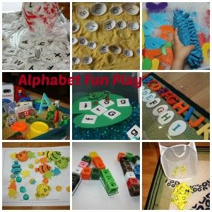 #Alphabet Play and #Learning for #Kids