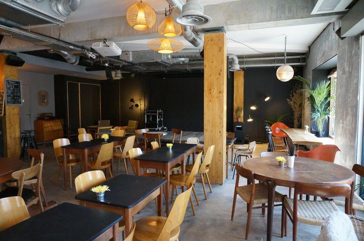 Les Petites Gouttes restaurant/bar à la ZAC Pajol © Semaest