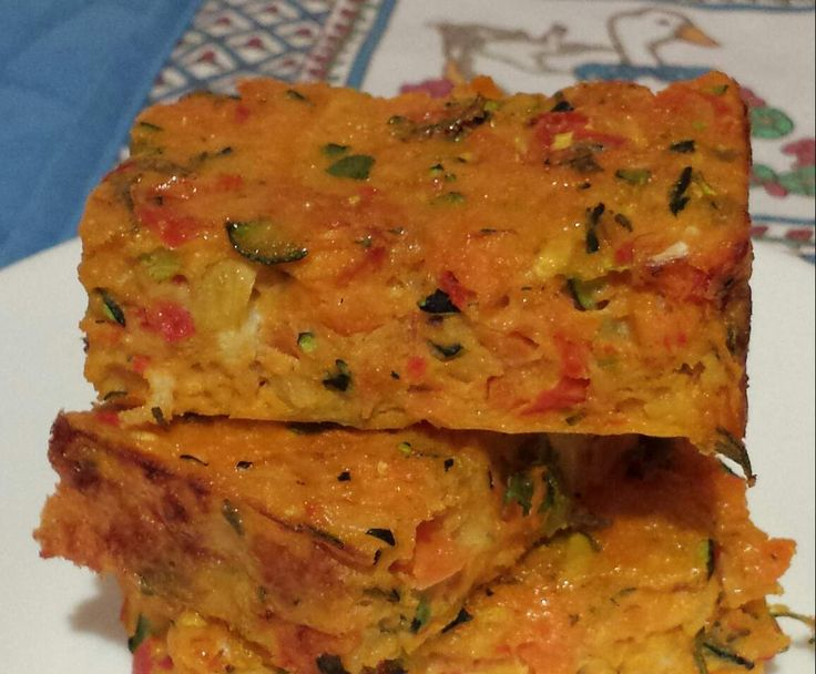 Recipe Carrot, Zucchini & Capsicum Slice by The Power of Real Food - Recipe of category Side dishes