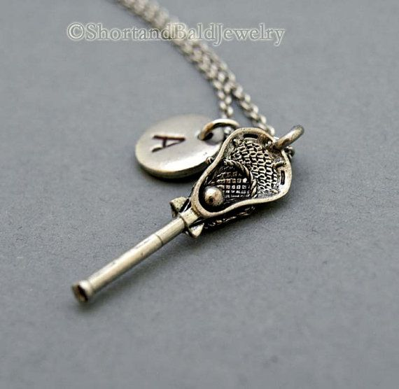 lacrosse kids necklace - Google Search
