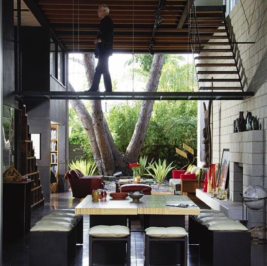 Floating Staircase And Walkway BySTEVEN EHRLICH