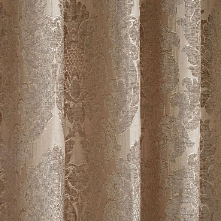 Versailles Natural Pencil Pleat Curtains | Dunelm