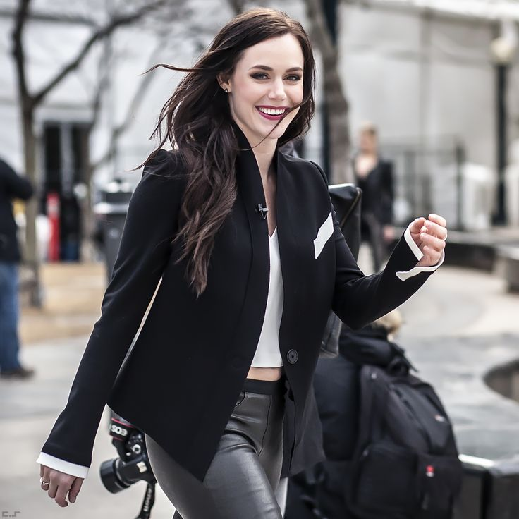Tessa Virtue on Day 5 @World MasterCard Fashion Week - SS15 - Photography by Chris Smart